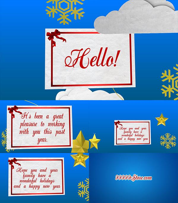 Blufftitler Christmas Greeting Card Blufftitler 99999Store