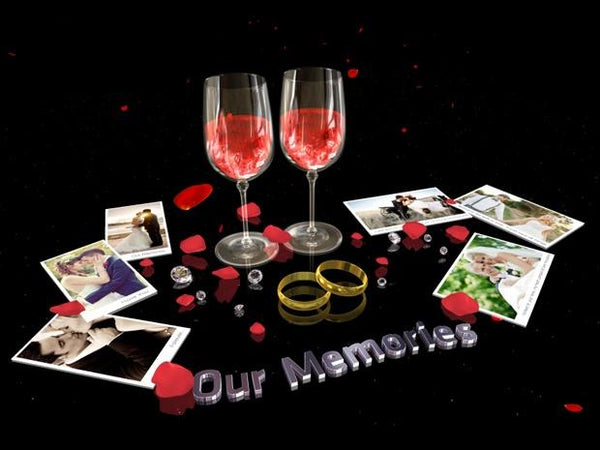 Blufftitler Blufftitler Template : 3D Wedding Slideshow Blufftitler 99999Store