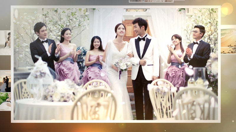 Blufftitler Template  Wedding Style 66