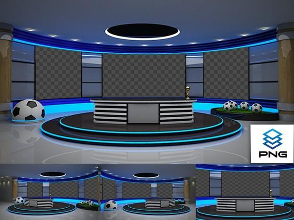 Virtual Studio Sets PNG - 4K SPORT 01 PNG 99999Store
