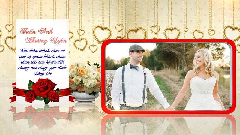 Blufftitler Template  Wedding Style 41