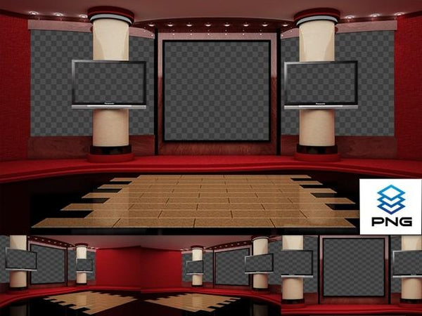 Virtual Studio Sets PNG - 4K MOVIE 05 PNG 99999Store