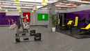Virtual Studio Sets Vmix - 4K Gym 01 vMix-Fox 99999Store