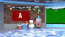 Virtual Studio Sets Vmix - 4K Christmas 02 vMix-Fox 99999Store