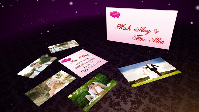 Blufftitler Template  Wedding Style 68