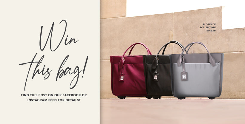 Francine Collections Florence Roller Tote Giveaway