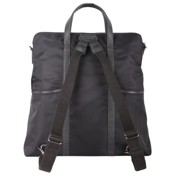 Highline Convertible Backpack & Tote Black | Laptop Bags for Women | Francine Collections