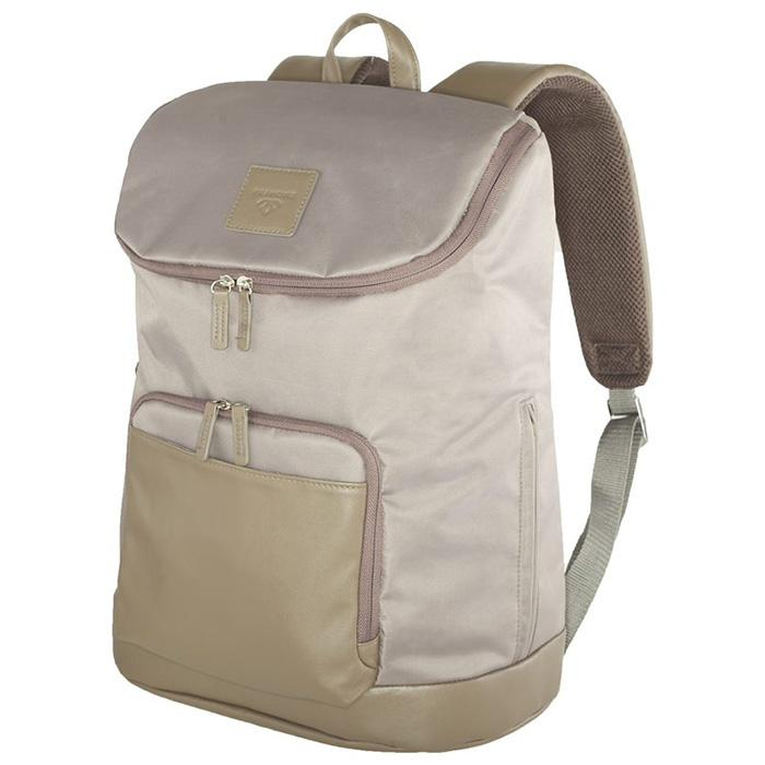 Tribeca Backpack Taupe | Laptop Bags for Women | Francine Collections