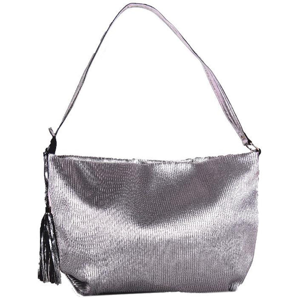 Venice Sparkles Tote Metallic Silver | Laptop Bags for Women | Francine Collections