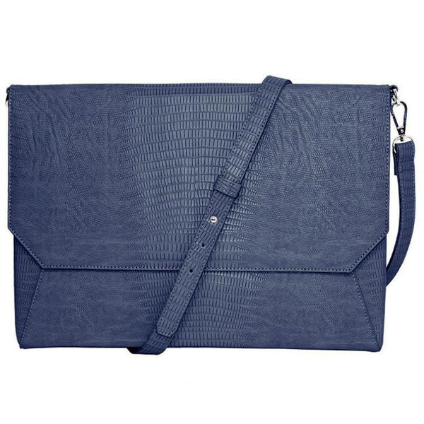 "Lenox Lizard 14"" Laptop Case Blue 