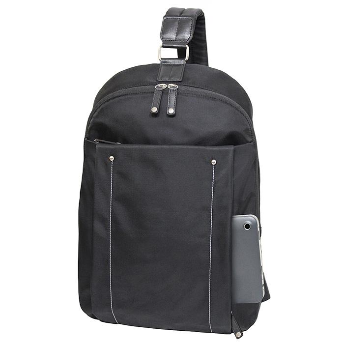City Slim Miami Backpack Black | Francine Collections | Branford, Connecticut