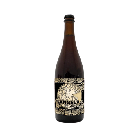 Penyllan Brewing(DK) - Angela 2015, Wood Aged Red Ale with Blackberries 7%, 75cl