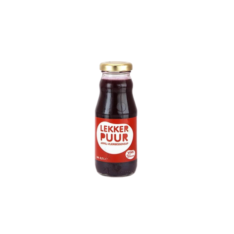 Lekker Puur(NL) - Apple & Elderberry Juice,20cl