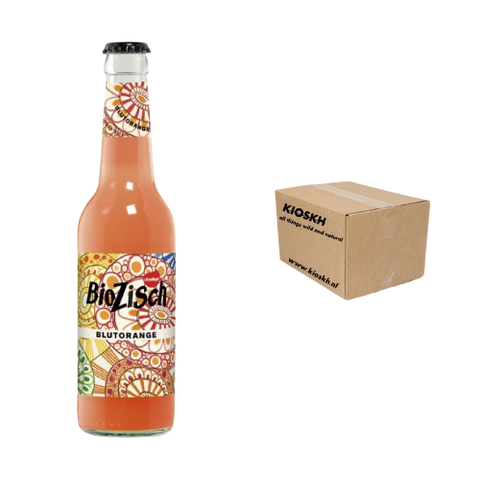BioZisch(DE) - Blood Orange, Organic Lemonade, Box 24*33cl