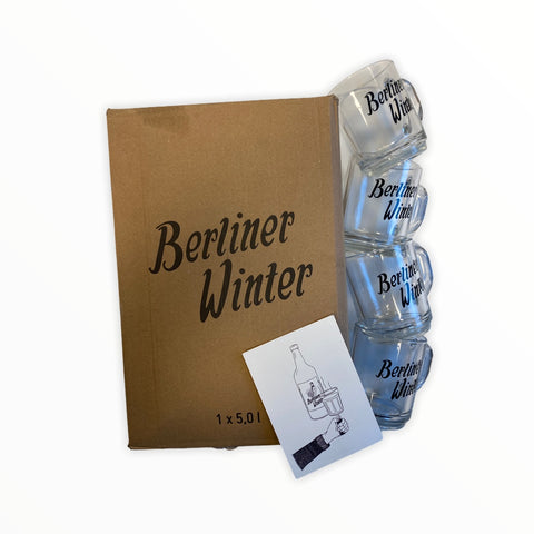 Berliner Winter(DE) - Berliner Winter Family Box, 5L + 4 free glasses.