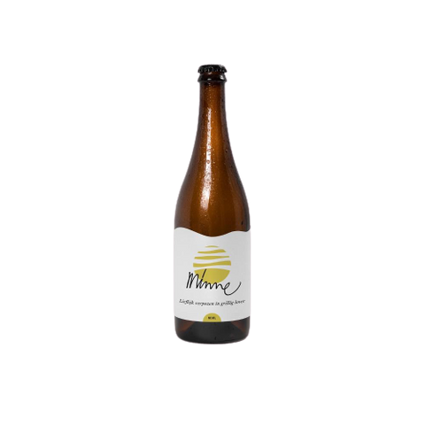 Nevel Artisan Ales(NL) - Minne( Wild Blond Beer with fresh hops and Quince) 5,4%, 1*33cl