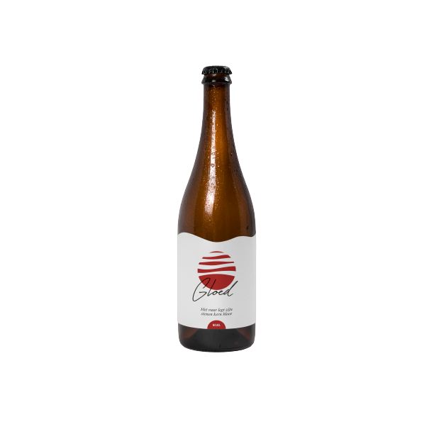 Nevel Artisan Ales(NL) - Gloed(Wood Aged wild beer with cherries and black berries) 75cl