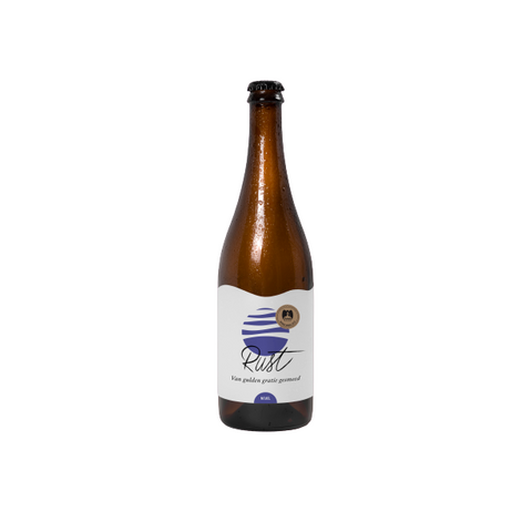 Nevel Artisan Ales(NL) - Rust (Wood aged wild blond beer with local hop)6%, 37,5cl
