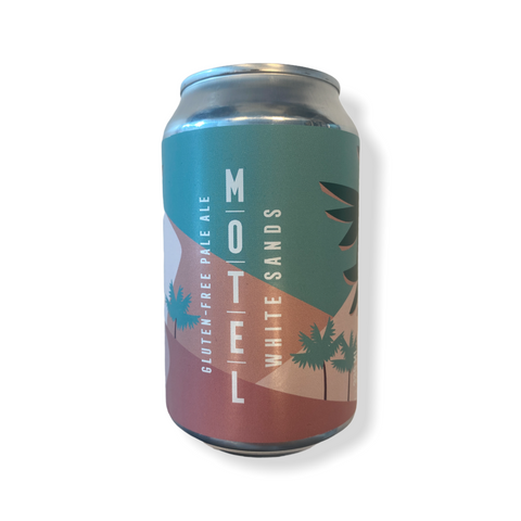 Motel Beer & Coffee - Whitesands, Glutenvrij Pale Ale, 4,8%, 330ml