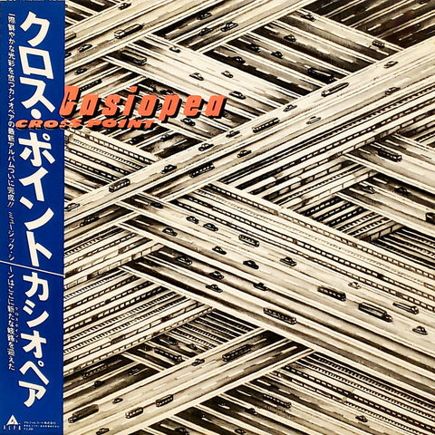Casiopea ‎– Cross Point (LP)
