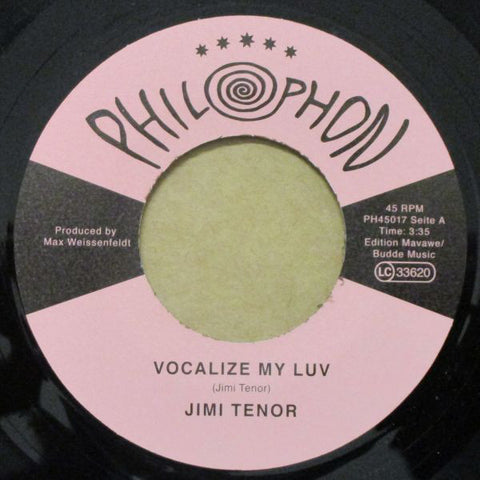Jimi Tenor - Vocalize My Love 7""