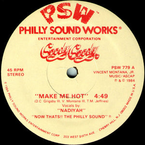 "Goody Goody ‎– Make Me Hot (12"")"