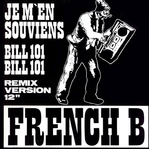 "French B ‎– Je M'en Souviens (12"")"