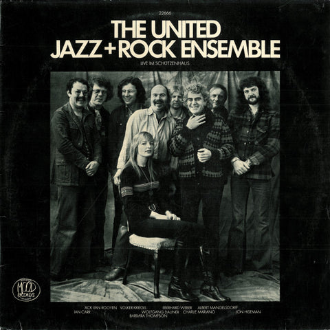 The United Jazz+Rock Ensemble ‎– Live Im Schützenhaus (LP)