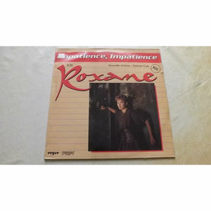 "Roxane  ‎– Impatience, Impatience (Nouvelle Version) (12"")"