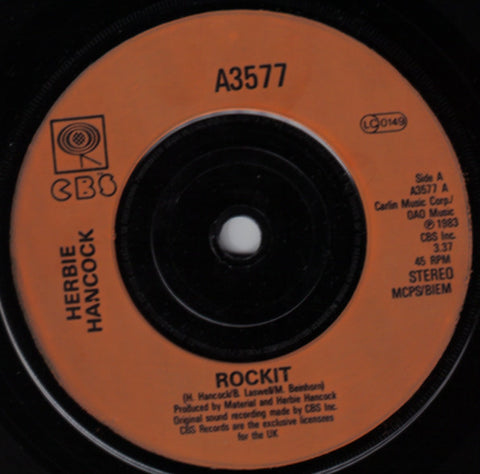 Herbie Hancock - Rockit/ I Thought It Was You 7""