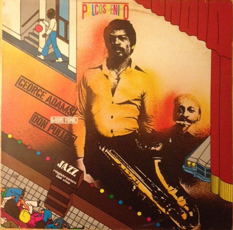 George Adams / Don Pullen ‎– More Funk (LP)