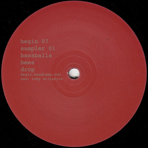 "Begin ‎– Sampler 01 Bassballs (12"")"