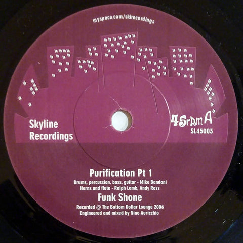 Funk Shone - Purification  7""