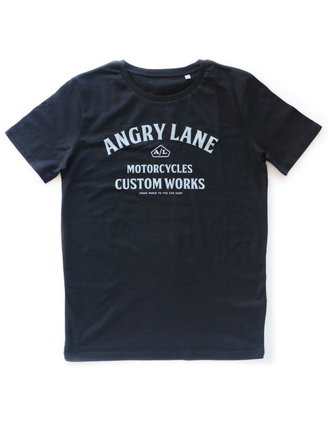 Custom Works Black T-shirt - ANGRY LANE
