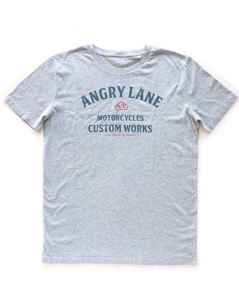 Custom Works Heather Grey T-shirt - ANGRY LANE
