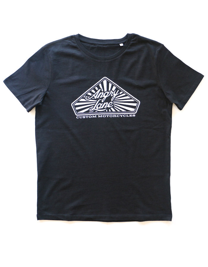 Diamond Black T-shirt - ANGRY LANE