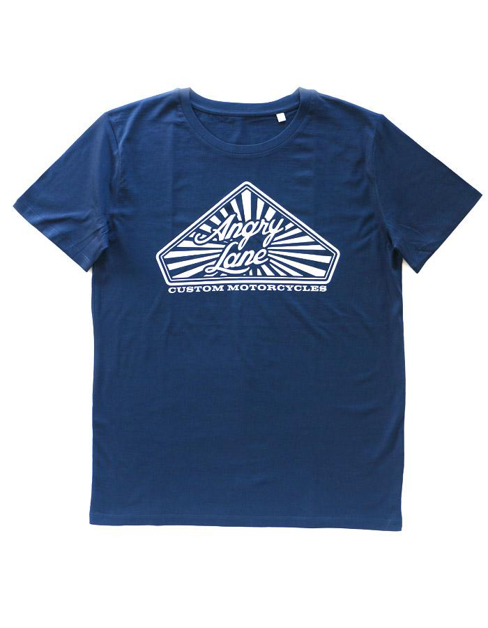 Diamond Navy T-shirt - ANGRY LANE