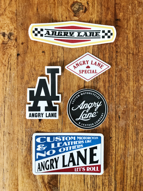 Sticker Pack - ANGRY LANE