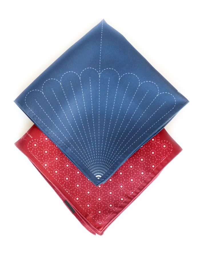 Silk Pocket Square Collaboration Angry Lane x Piece Of Chic