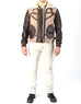 BOMBER - Shearling Aviator Jacket - ANGRY LANE