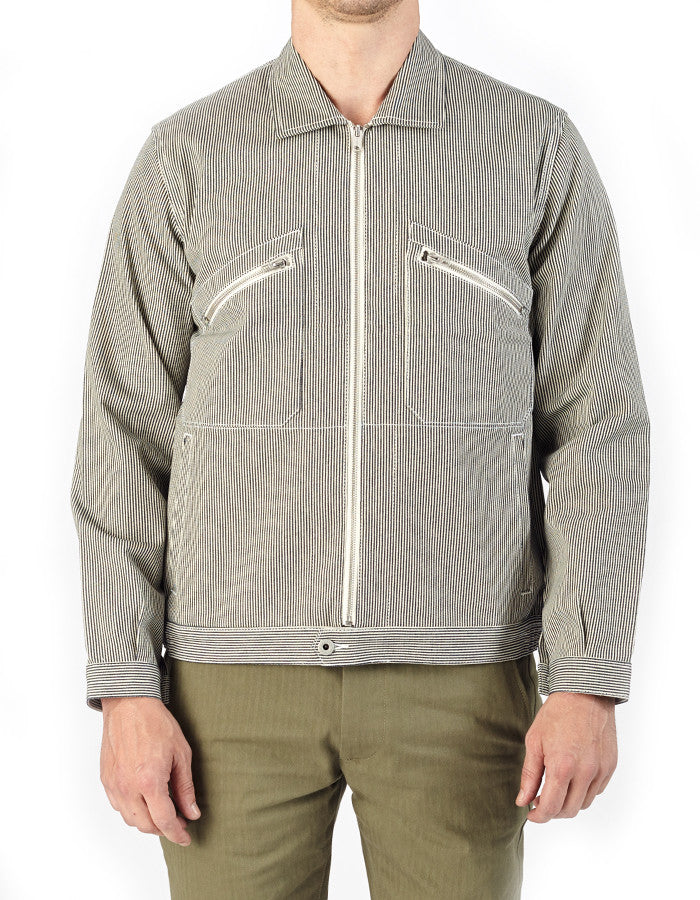 Papy Japanese Cotton Hickory Jacket