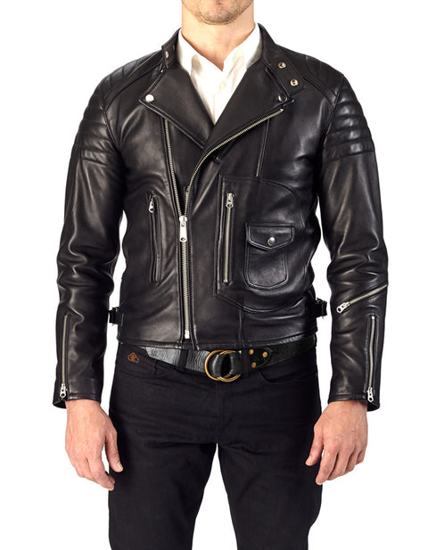 Racer French Lambskin Jacket