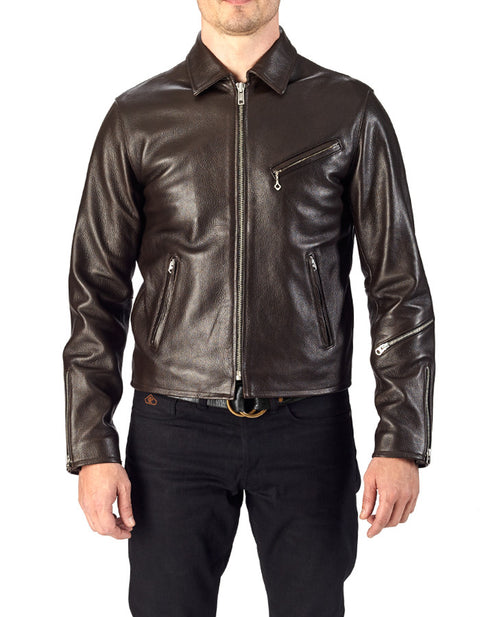 Shifter French Goatskin Leather Jacket