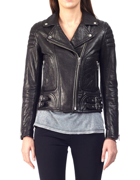 Max Bubble NZ Lambskin Jacket