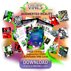 FREE Catalog of Augmented Reality cards from VINES for Humanity Puzzle Card Game