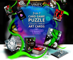 VINES for Humanity Puzzle Card Game with Augmented Reality