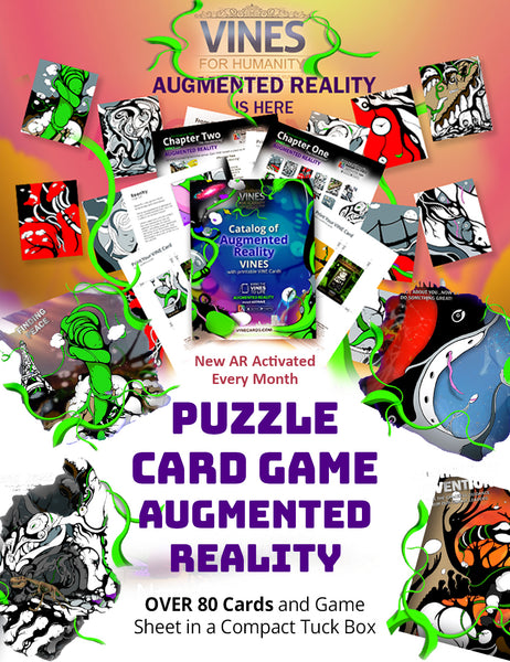 The Ultimate Puzzle Card Game with augmented Reality