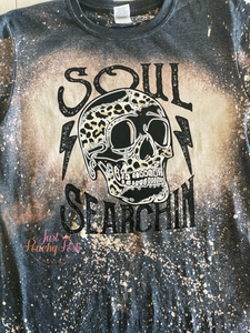 Soul Searchin Bleached Tee