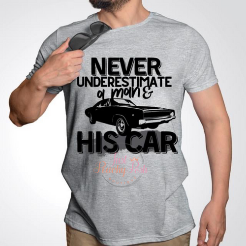 Never Underestimate A Man Tee