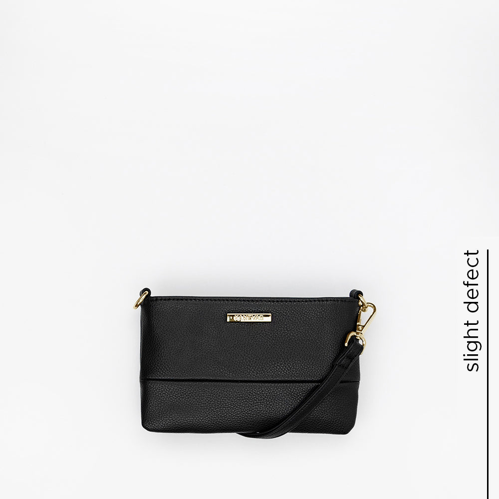 chloe mini | black and gold